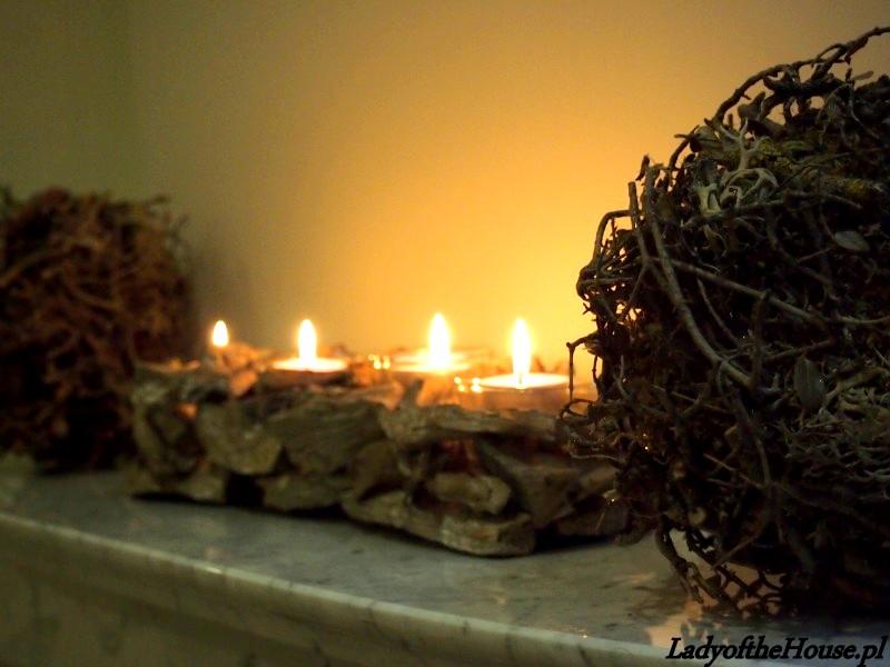 świecznik jesienny