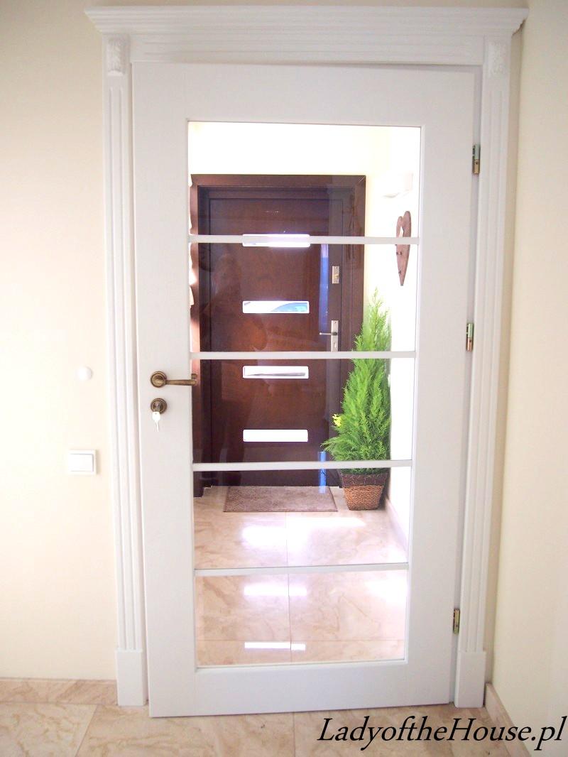 przeszklone drzwi