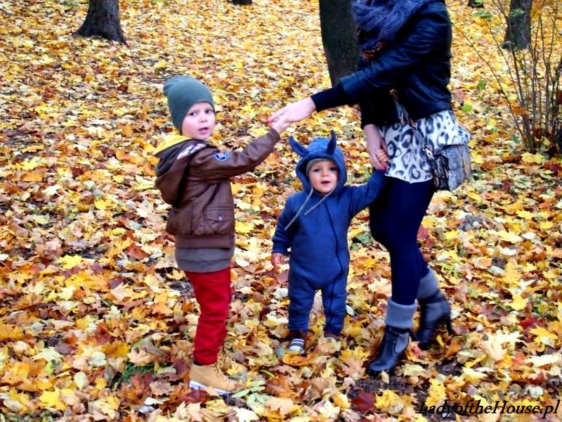 spacer jesienny