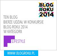 Blog Roku 2014 Lifestyle
