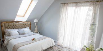 sypialnia ze snow