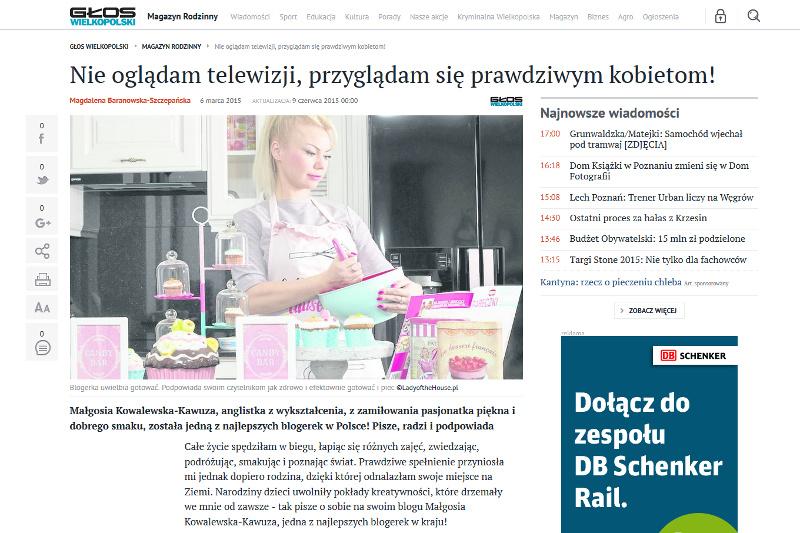artykuł Głos Wielkopolski