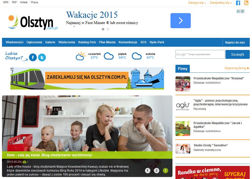wywiad dla Olsztyn.com.pl