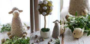 dekoracja wielkanocna DIY