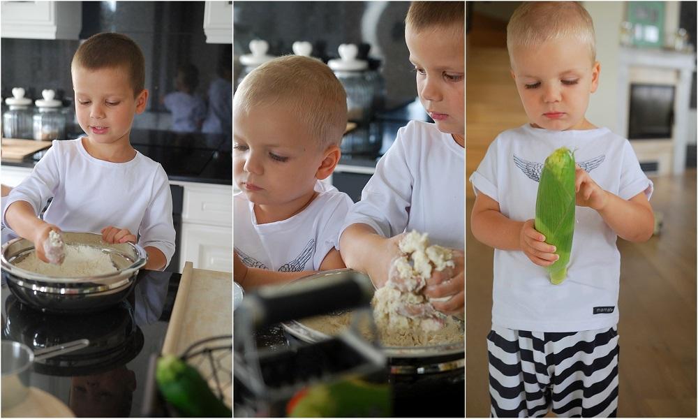 dzieci w kuchni