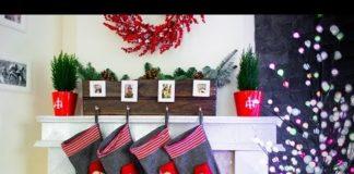 Wieszak na skarpety świąteczne DIY