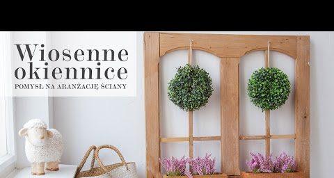 wiosenne okiennice