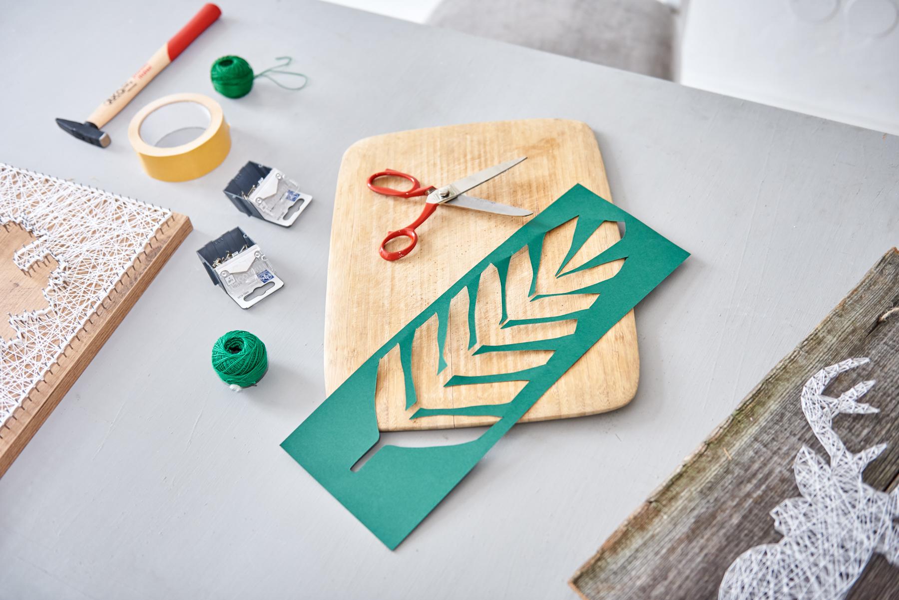 Rewelacyjny string art, blog diy, jak zrobić, obraz z nici, pomysł na prezent CS67