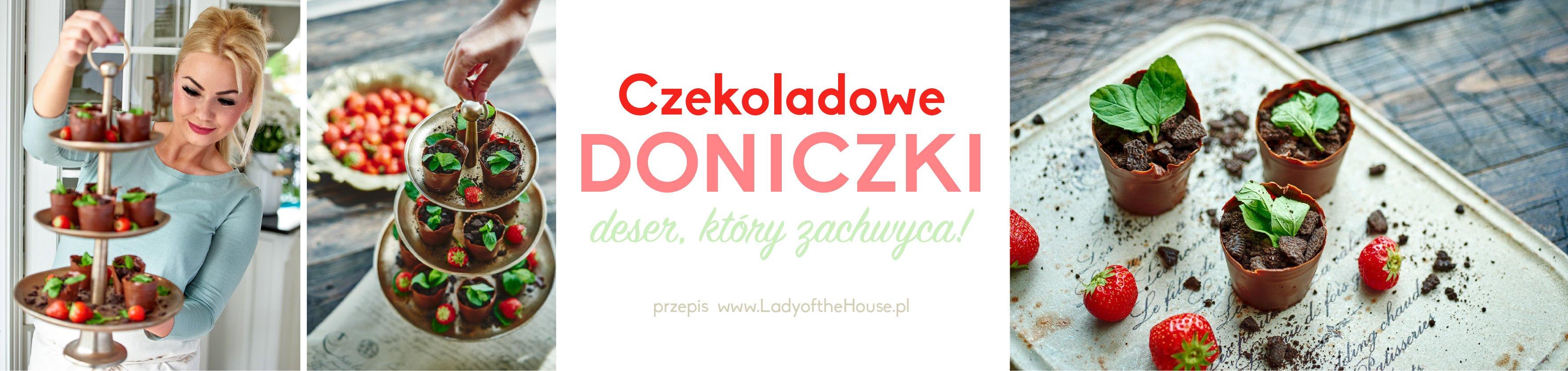 Doniczki Z Czekolady Kwitnące Doniczki Jak Zrobić Doniczki