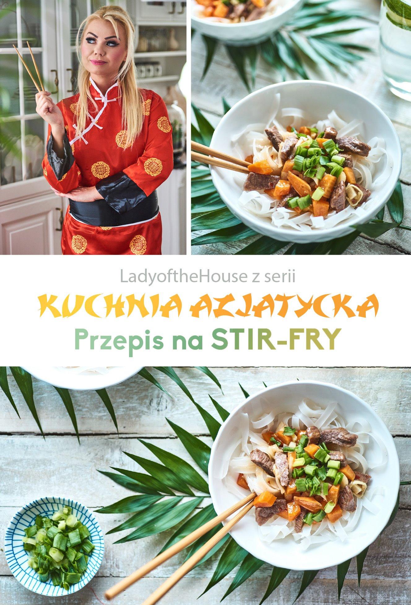 Przepis Na Obiad Pomysł Na Obiad Stir Fry Kuchnia